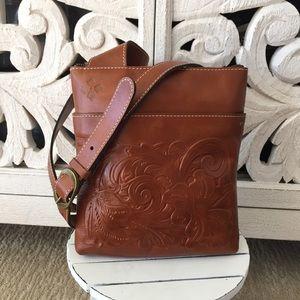 Patricia Nash Tooled Leather Crossbody